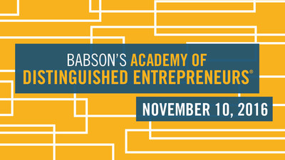 Online visionaries Sheila Lirio Marcelo, Founder of Care.com, and Stephen Kaufer, Chief Executive Officer and Co-Founder of TripAdvisor, will be honored with induction into the Academy of Distinguished Entrepreneurs(R) at Babson College during ceremonies on the Wellesley campus on November 10, 2016.