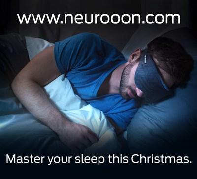 Neuroon: Smart Sleep Mask. Give the ones you love better sleep for Christmas.