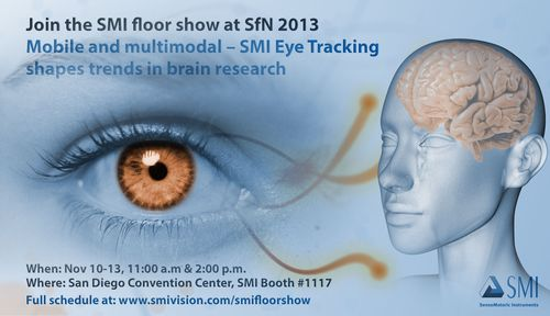 Join the SMI floor show SfN 2013