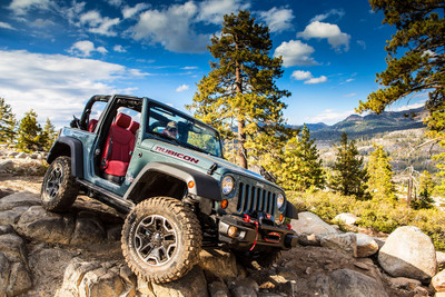 Grand prize winner of Jeep X Games Avalanche Scramble Sweepstakes will receive a new 2013 Jeep(R) Wrangler Rubicon 10th Anniversary Edition.  (PRNewsFoto/Chrysler Group LLC)