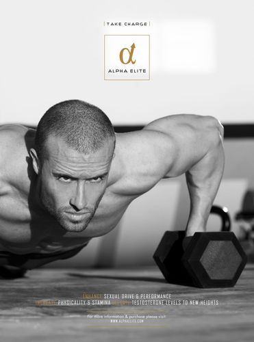Take Charge and Become One of the Alpha Elite with the Launch of Hantian Labs' Stimulant Free Testosterone and Performance Booster (PRNewsFoto/Hantian Labs Ltd)