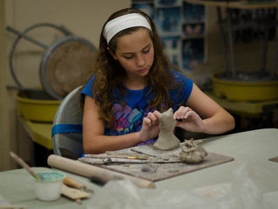 """Coral Springs Museum of Art presents """"Summer in the Studio,"""" for youth ages 6 to 15. During this 10-week program, students will explore the arts through drawing, painting, 3D modeling and even video game design."""