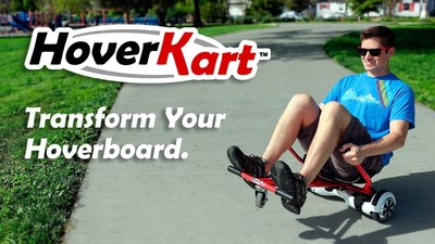 HoverKart: Transform Your Hoverboard Into an Awesome Gokart, Today on Kickstarter