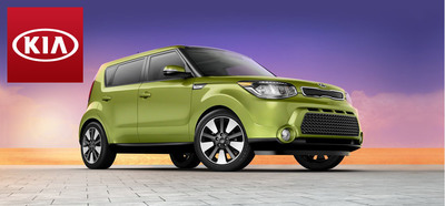 The 2014 Kia Soul's eye-catching exterior is just the beginning of the wagon's excellence, as its interior was recently recognized on Ward's 10 Best Interiors list. (PRNewsFoto/Portsmouth Kia)