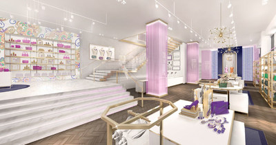Interior rendering of Charming Charlie's New York Flagship scheduled to open in April 2015