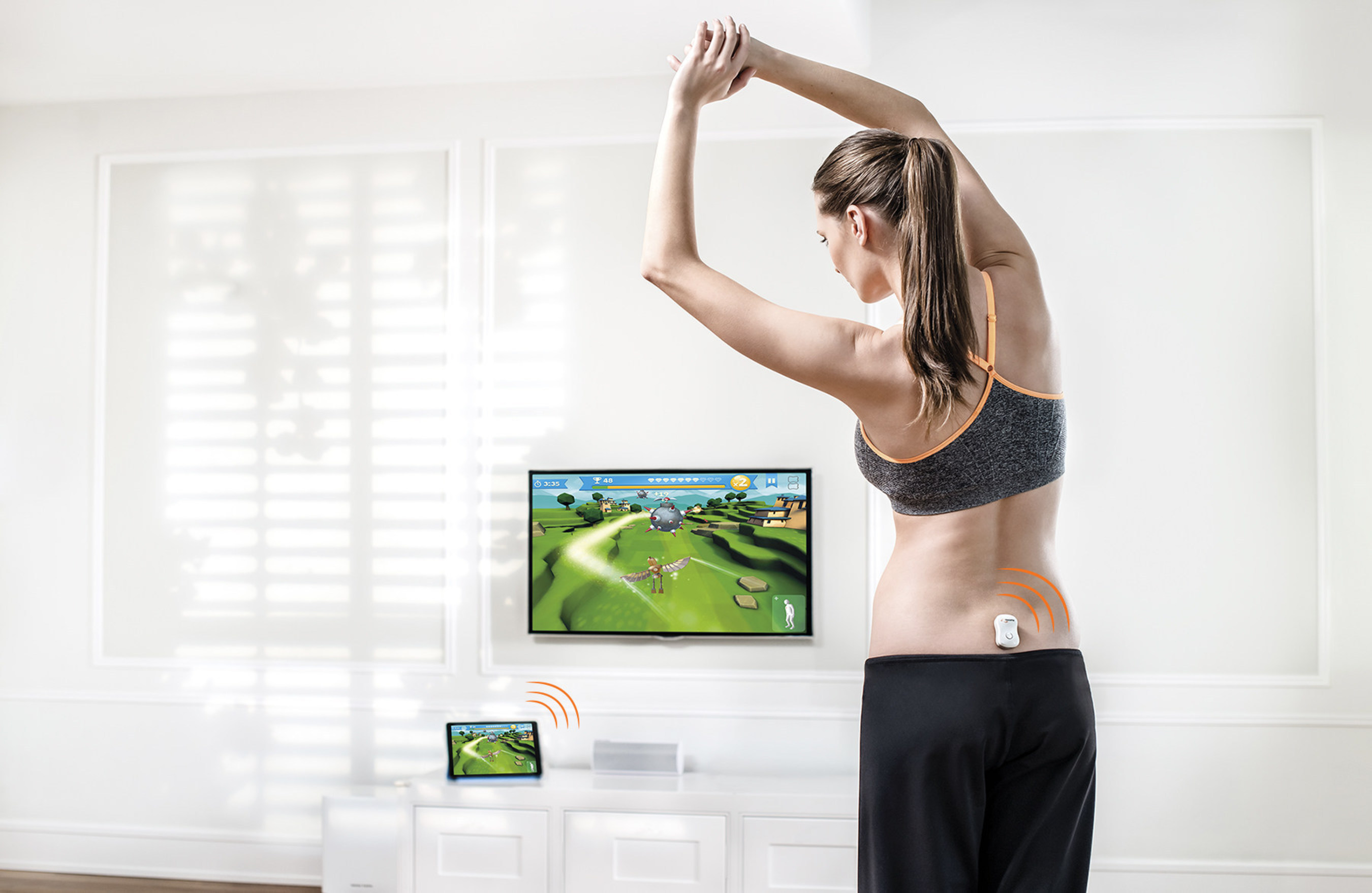 Valedo is the first wearable medical device for the low back that combines physical sensors with sophisticated, yet intuitive software to motivate and guide users through fun and interactive exercises.