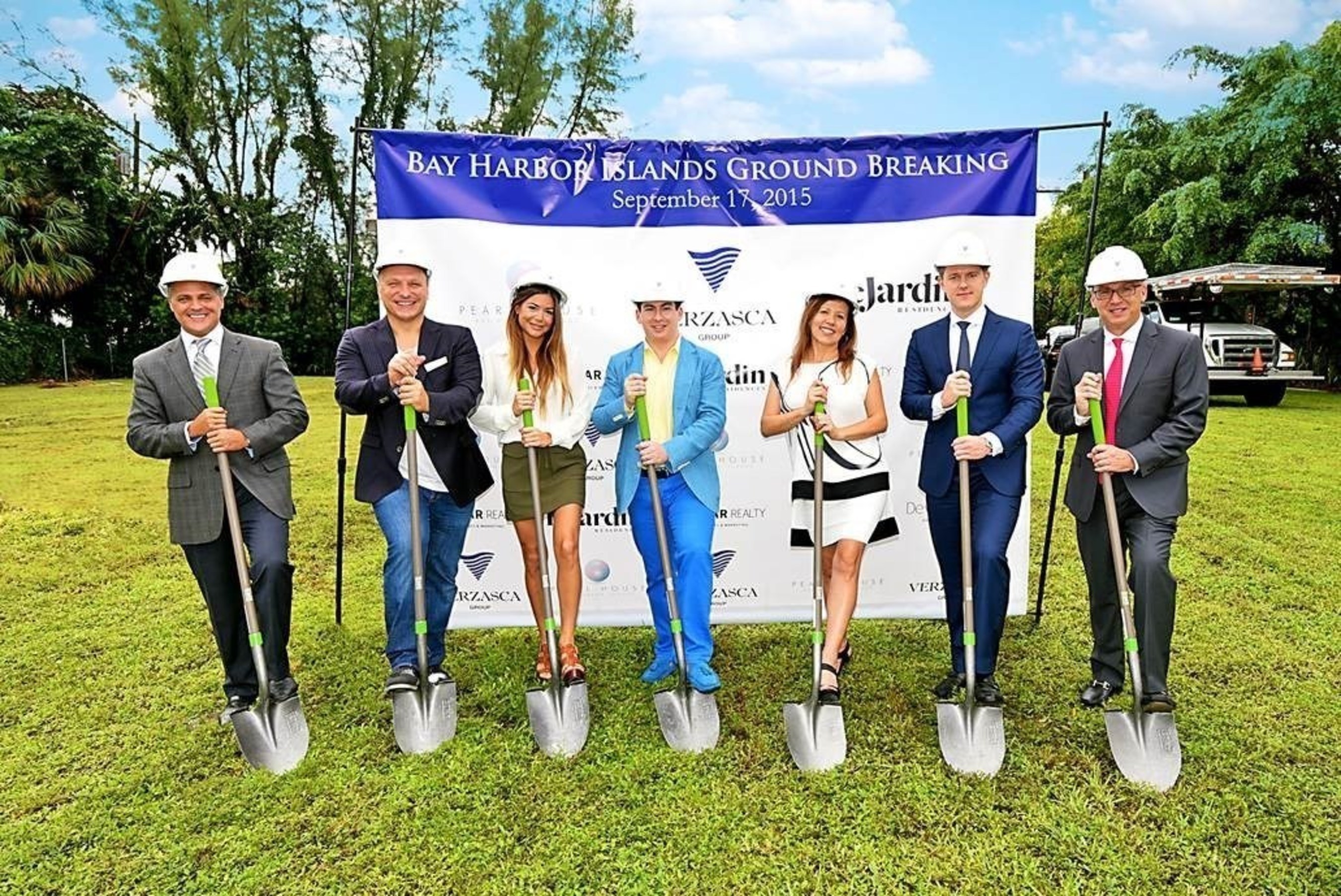South Florida Real Estate Developer, Verzasca Group, Breaks Ground on Le Jardin Residences and Pearl House Projects in Bay Harbor Islands