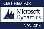 Certified for Microsoft Dynamics NAV 2013.  (PRNewsFoto/360 Visibility)
