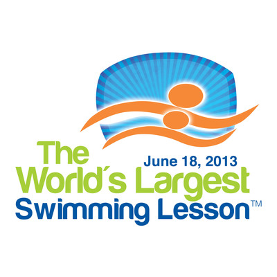 World's Largest Swimming Lesson logo.  (PRNewsFoto/World's Largest Swimming Lesson)