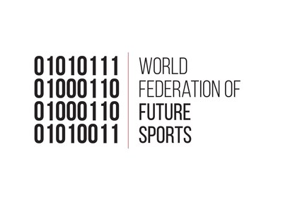 The official logo of The World Federation of Future Sports (PRNewsFoto/Dubai Museum of the Future) (PRNewsFoto/Dubai Museum of the Future)