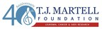 The T.J. Martell Foundation is proud to be celebrating its 40th anniversary.
