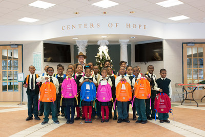 Will Leather Goods Donates Over 3,000 Backpacks To Detroit Schools