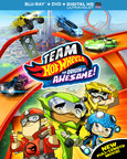 From Universal Studios Home Entertainment: Team Hot Wheels(TM): The Origin of Awesome! (PRNewsFoto/Universal Studios Home)