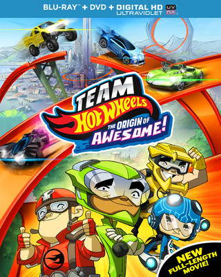 From Universal Studios Home Entertainment: Team Hot Wheels: The Origin of Awesome!