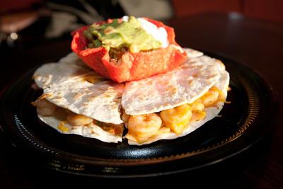 Taco Cabana's Shrimp Tampico.  (PRNewsFoto/Taco Cabana)