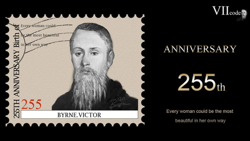 255th Anniversary of the Birth of Byrne Victor (1758--1826), the Founder of VIIcode.  (PRNewsFoto/VII Beauty LLC (www.viicode.com))