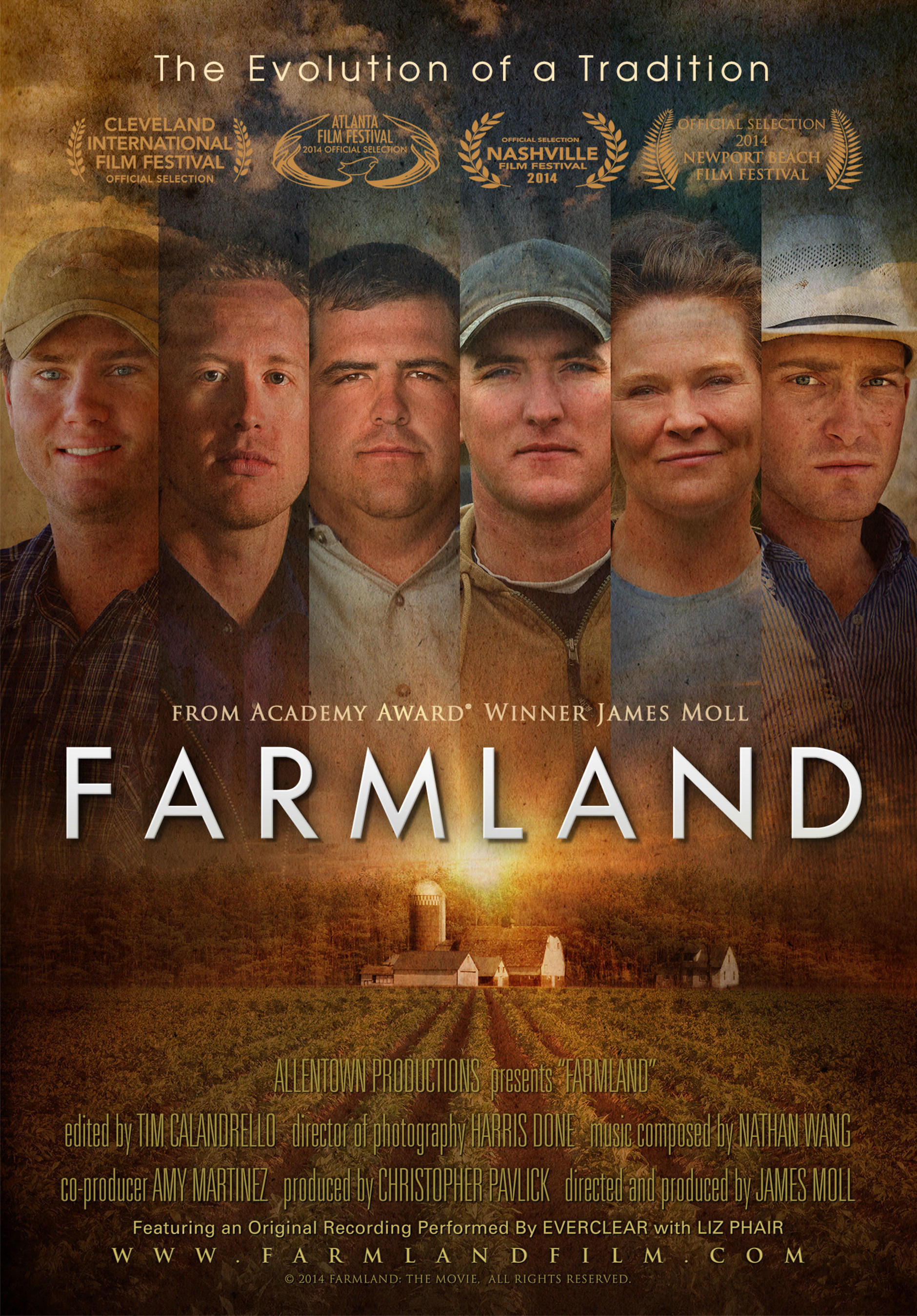 Farmland, From Academy Award'-Winning Director James Moll, Confirms National DVD Launch