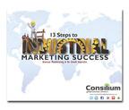 "B2B Marketing - Consilium's new eBook ""13 Steps to B2B Marketing Success.""  (PRNewsFoto/Consilium Global Business Advisors)"