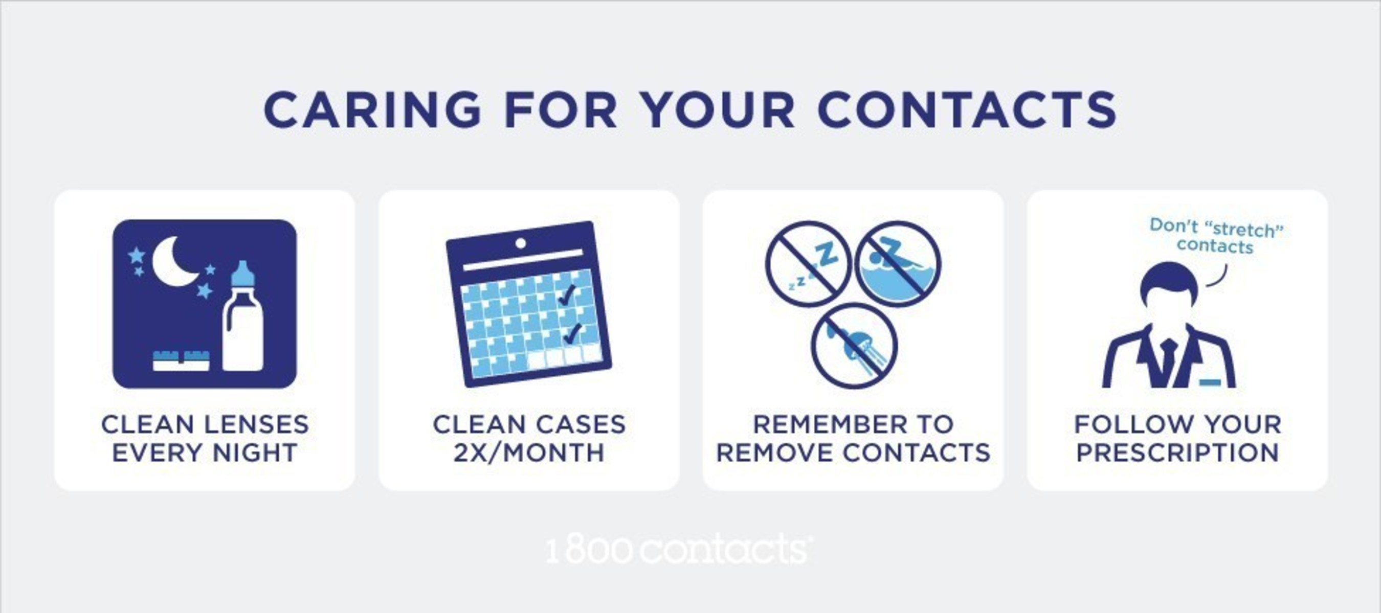 1-800 Contacts Care Tips