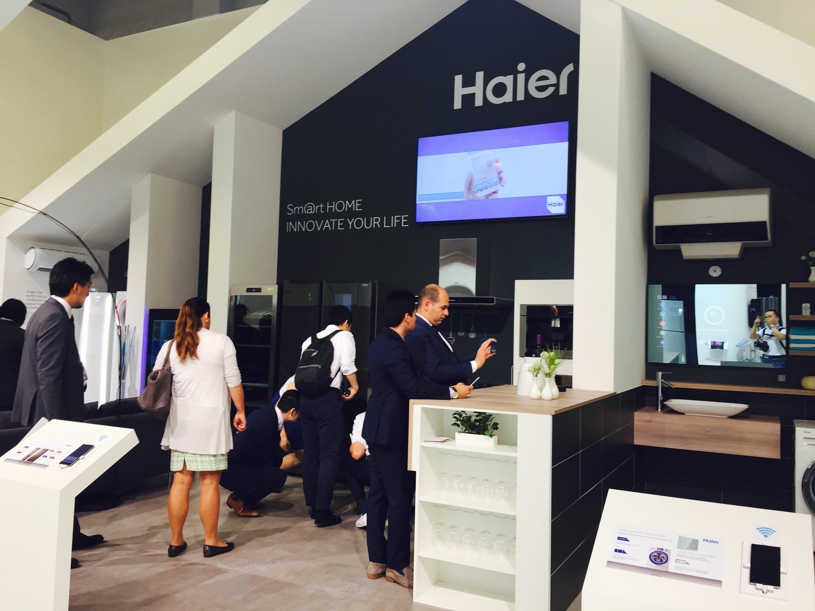 Haier U+ feiert auf der IFA 2015 europäisches Debüt