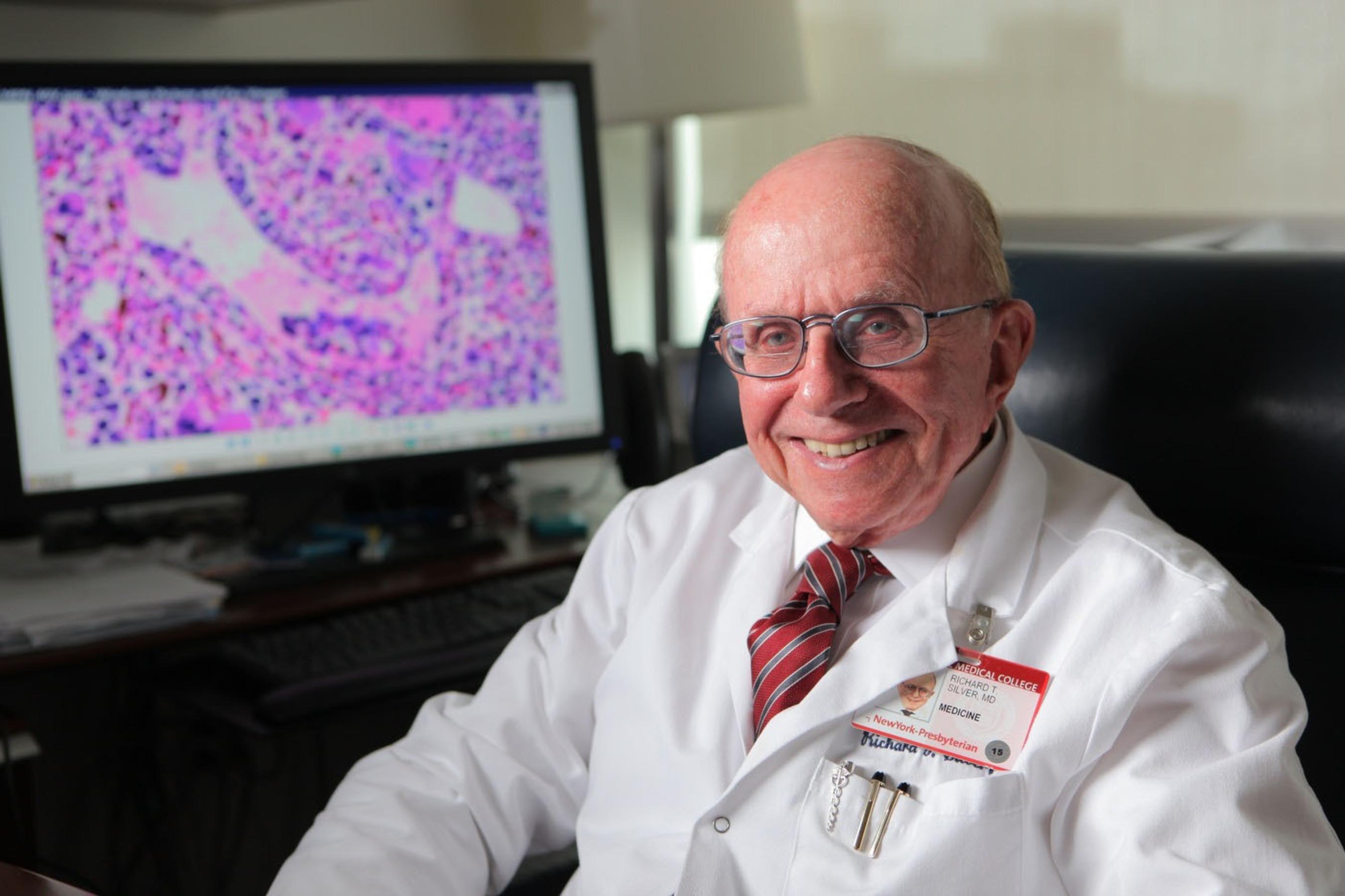 Dr. Richard T. Silver.  (PRNewsFoto/MPNforum)