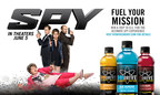 """HYDRIVE Energy Water point-of-sale promoting """"Spy"""" partnership"""