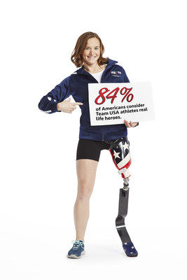 U.S. Paralympic Triathlete Melissa Stockwell