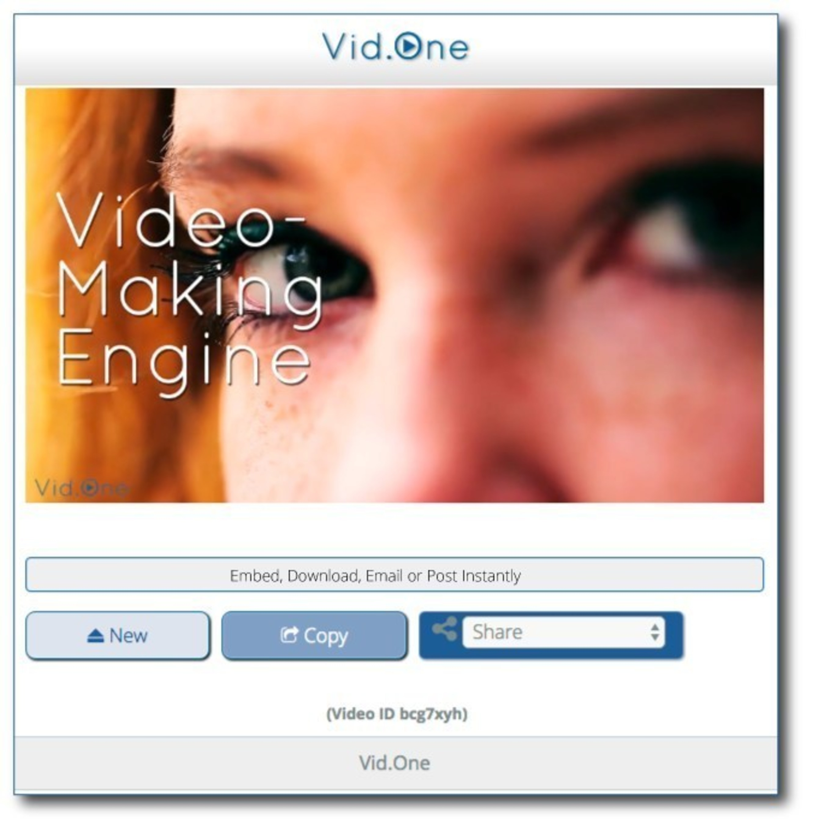 Video Ready To Embed, Download & Share