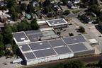 .54 MW rooftop solar at ENE 80 Norwich facility.  (PRNewsFoto/Nautilus Solar Energy, LLC)