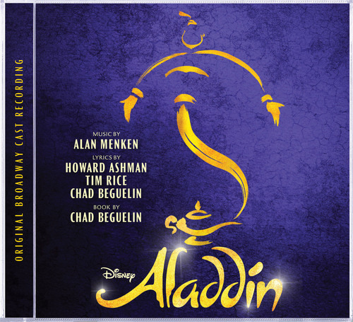 Aladdin Original Broadway Cast Recording Cover Art.  (PRNewsFoto/Walt Disney Records)