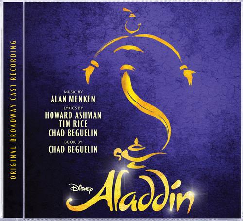 Aladdin Original Broadway Cast Recording Cover Art. (PRNewsFoto/Walt Disney Records) (PRNewsFoto/WALT DISNEY ...