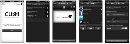 JW Marriott Hotels & Resorts Launches CUR8 App for Travelers. (PRNewsFoto/JW Marriott Hotels & Resorts)