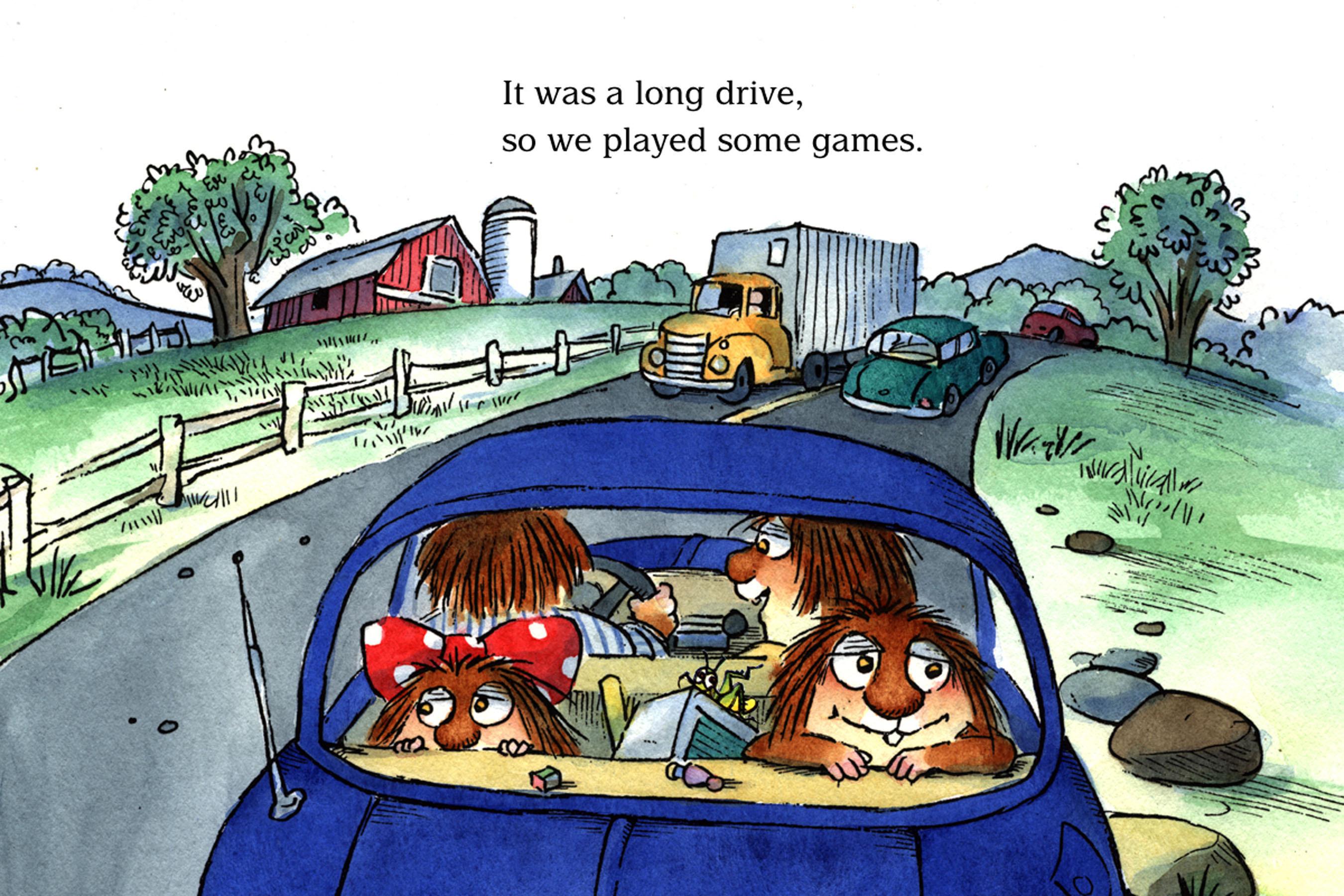 The Trip - Little Critter Reading Adventure (Image 2).  (PRNewsFoto/Silver Dolphin Books)