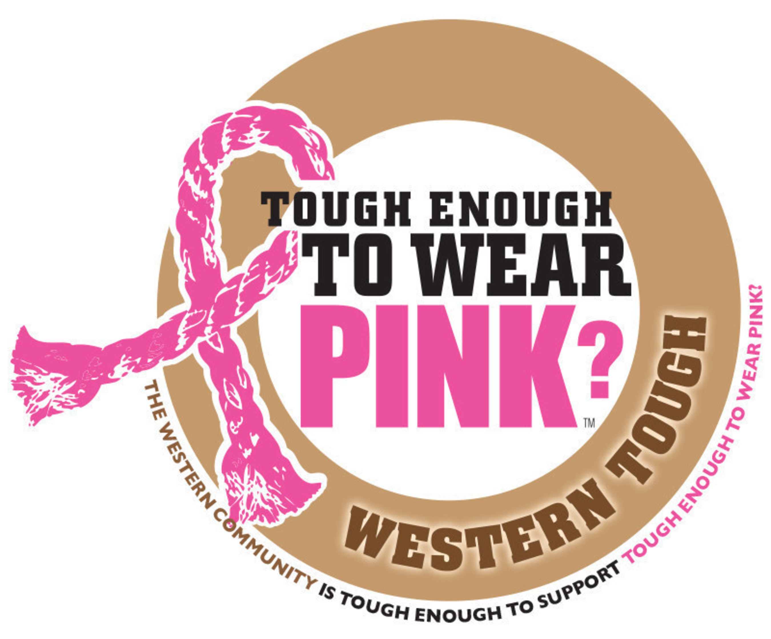 Tough Enough To Wear Pink, the western community's campaign against breast cancer