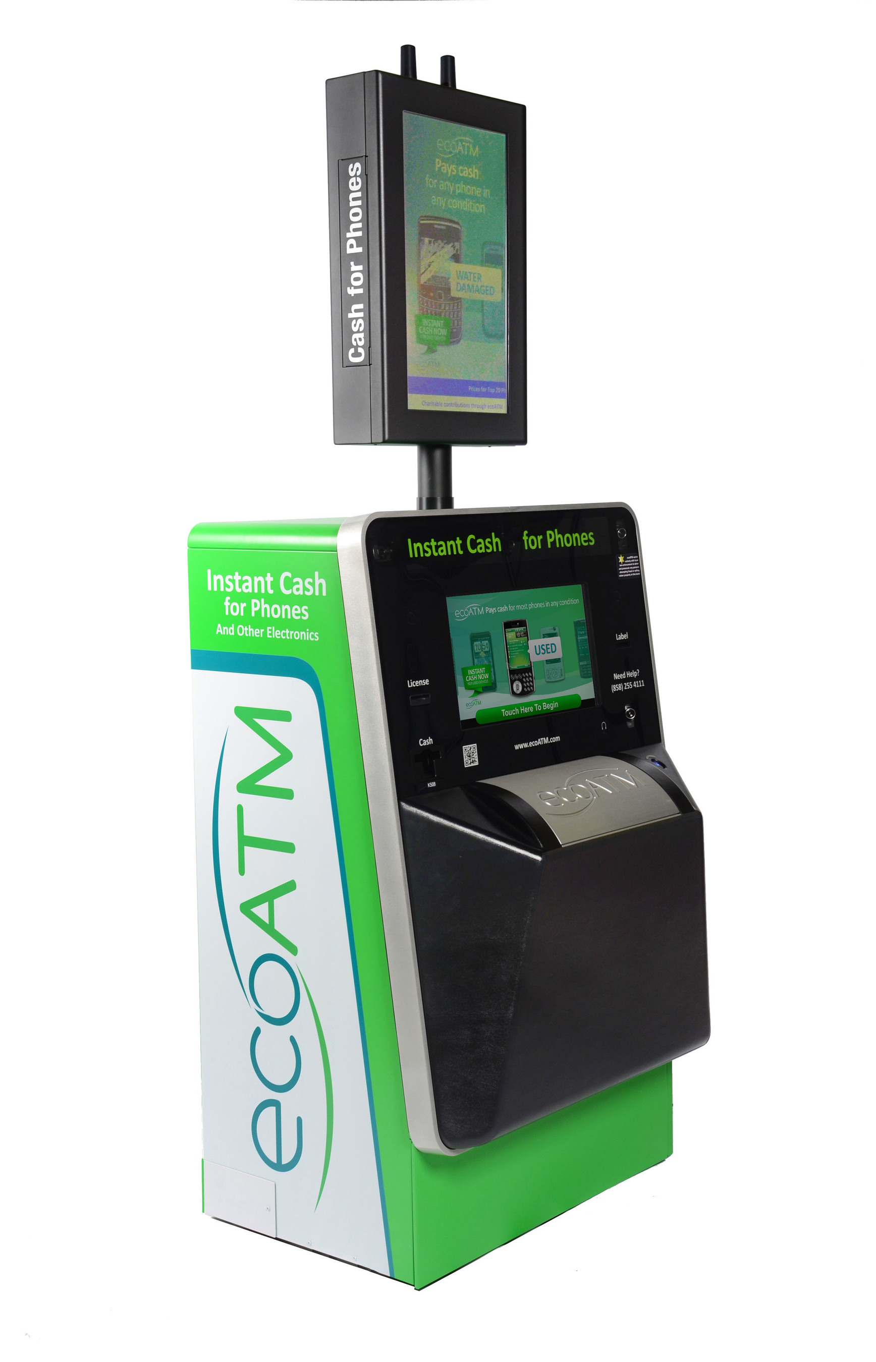 ecoATM survey reveals less than half of device owners would consider recycling unwanted phones, tablets and MP3 players. (PRNewsFoto/ecoATM) (PRNewsFoto/ECOATM)