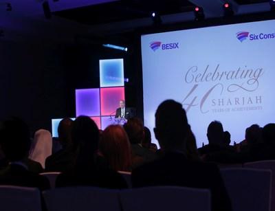 BESIX celebrates 'Sharjah: 40 Years of Achievements' (PRNewsFoto/BESIX Group)