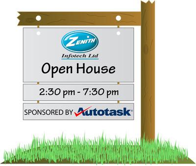 Open House logo.  (PRNewsFoto/Zenith Infotech)