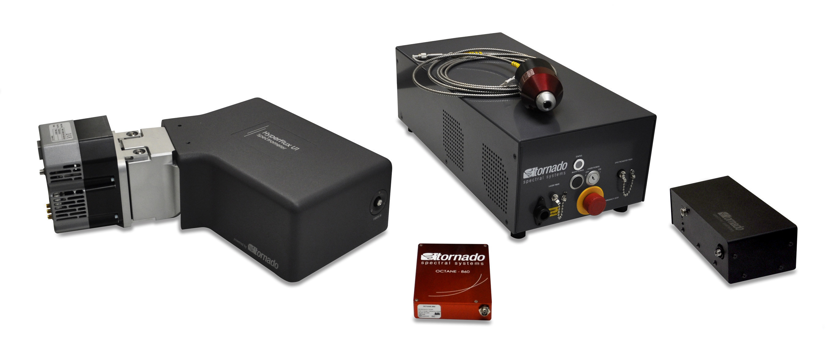 Tornado's compact high-performance spectrometers