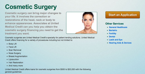 Cosmetic Surgery Financing Company United Medical Credit Hires New Employees to Keep up with Demand.  (PRNewsFoto/United Medical Credit)