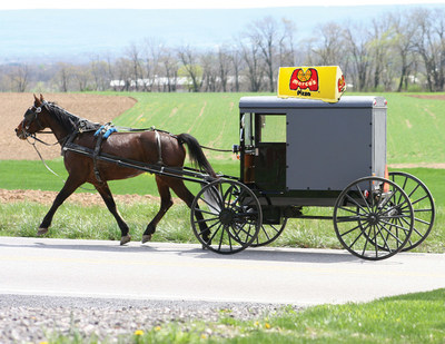 Marco's Pizza experiments with alternative delivery methods, like horse & buggy.  It's all part of its Fact or Fool social media promotion.  Go to Marco's Facebook page to cast your vote.
