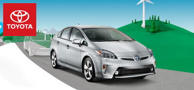 The 2014 Toyota Prius continues to deliver as the nations best Hybrid on the market (PRNewsFoto/Toyota of River Oaks)