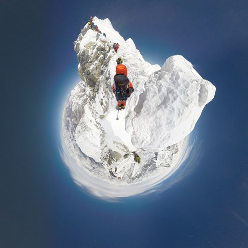 Mammut's #project360 celebrated a new milestone in virtual mountaineering, as the two Nepalese mountain ...