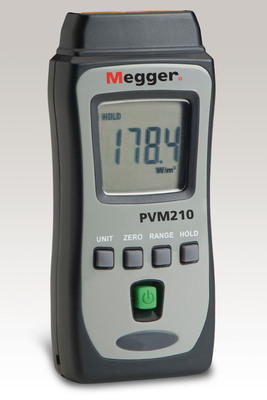 New Handheld Instrument from Megger Aids in Solar Panel Positioning. (PRNewsFoto/Megger) (PRNewsFoto/MEGGER)