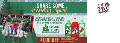 Big Red and Trees for Troops