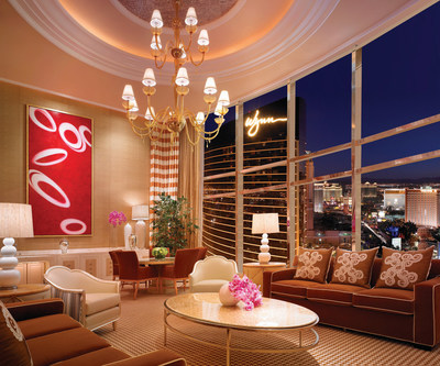 Forbes Travel Guide Five Star Duplex Suite at Encore at Wynn Las Vegas.