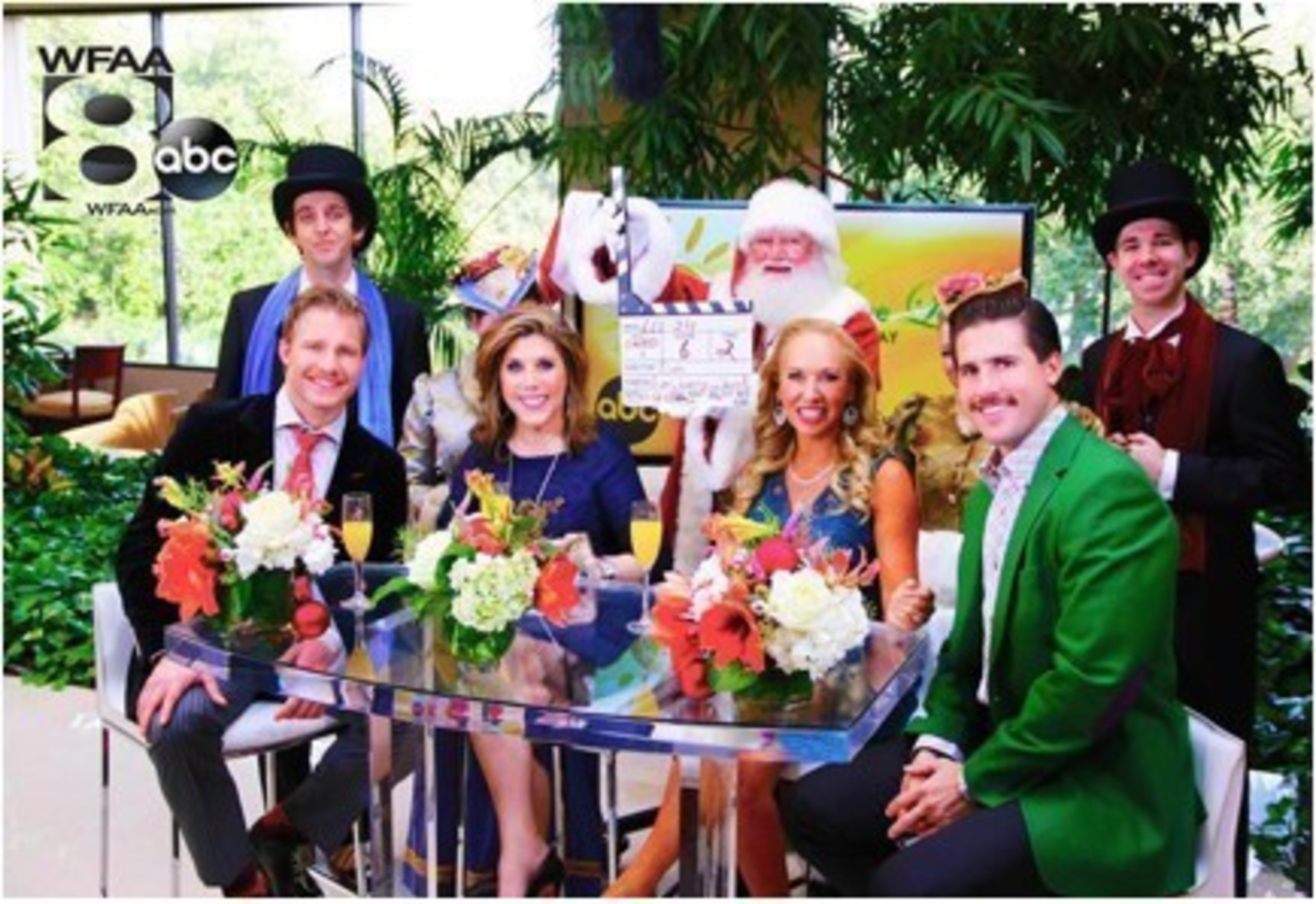It's a 'Wild West Christmas' on the 'Live Love Laugh Today Show' With Guest CoHosts From the Bachelorette Season 11, Clint Arlis and JJ Lane on ABC Network Lifestyle