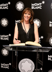 Montblanc Honors Jane Rosenthal for 23rd Anniversary of the Montblanc de la Culture Arts Patronage Awards. (PRNewsFoto/Montblanc)