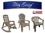 Adams Manufacturing to Unveil Big Easy(TM) Line of Oversized Made in USA Resin Furniture. Rated to hold 350 lbs., Adams' Big Easy(TM) line is uniquely designed to accommodate America's changing demographics.