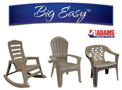 Adams Manufacturing to Unveil Big Easy™ Line of Oversized Resin ...