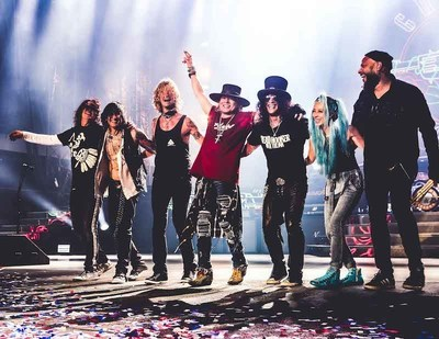 Guns N' Roses 'NOT IN THIS LIFETIME' TOUR